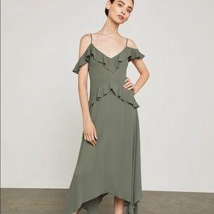 "BCBG MaxAzria ""Lissa"" Asymmetrical Slip Dress"